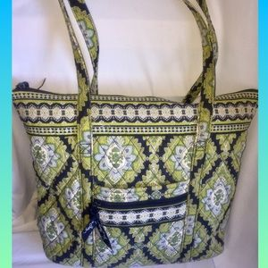 Vera Bradley Cambridge Quilted Shoulder tote Bag